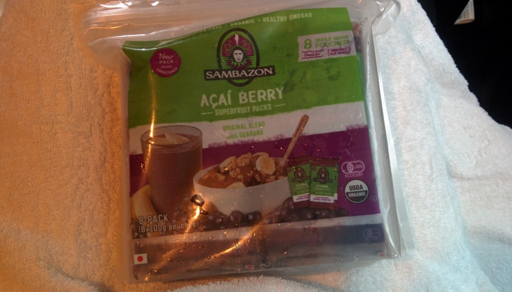 コストコ sambazon acai berry superftuit packs